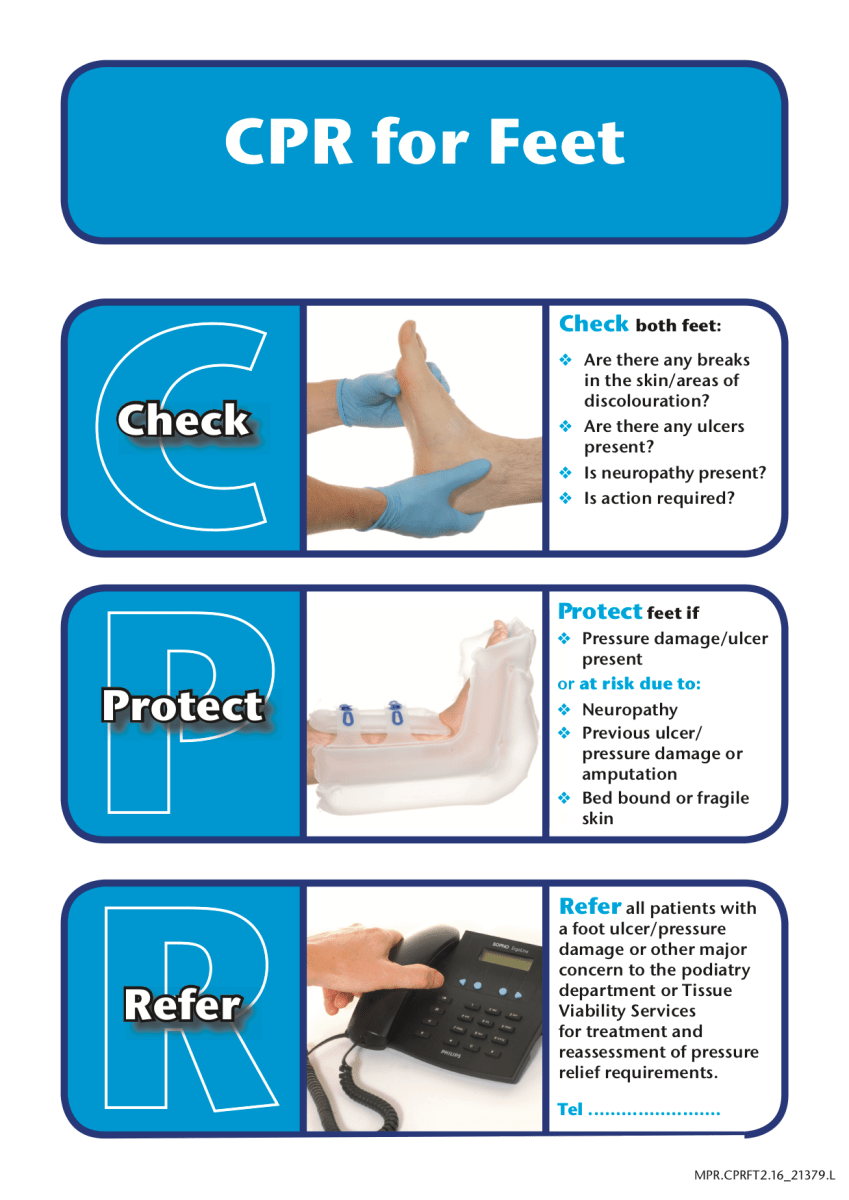 To Prevent the Next #Footattack, Know Foot #CPR